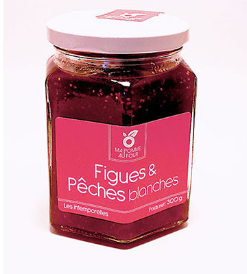 confiture figues peches blanches